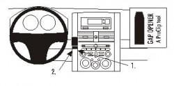 Fixation voiture Proclip  Brodit Mitsubishi Galant Réf 853468