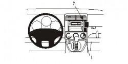 Fixation voiture Proclip  Brodit Honda Element Réf 853485
