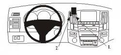Fixation voiture Proclip  Brodit Lexus RX Series Réf 853486