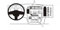Fixation voiture Proclip  Brodit Seat Altea Réf 853491
