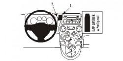 Fixation voiture Proclip  Brodit Fiat Panda Réf 853493