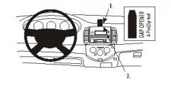 Fixation voiture Proclip  Brodit Nissan Micra Réf 853498