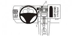 Fixation voiture Proclip  Brodit Volvo C30 Réf 853500