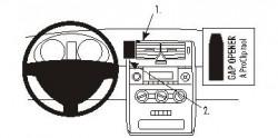 Fixation voiture Proclip  Brodit Mercedes Benz A-Class Réf 853505
