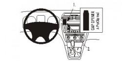 Fixation voiture Proclip  Brodit Skoda Octavia II  UNIQUEMENT pour les Ambiente 05-13, 05-13 Classique, Élégance 05-13, RS 05-13, 07-13 Scout. Réf 853525