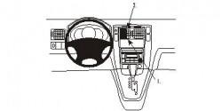 Fixation voiture Proclip  Brodit Hyundai Tucson Réf 853530