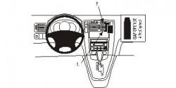 Fixation voiture Proclip  Brodit Hyundai Tucson Réf 853531