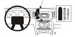 Fixation voiture Proclip  Brodit Jeep Grand Cherokee  PAS pour les modèles avec option GPS d'origine. Réf 853555