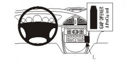Fixation voiture Proclip  Brodit Citroen C5 II Réf 853568