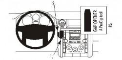 Fixation voiture Proclip  Brodit Land Rover Discovery 3  PAS pour la finition bois Réf 853572