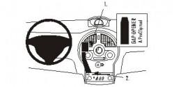 Fixation voiture Proclip  Brodit Renault Grand Modus Réf 853574