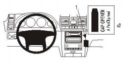 Fixation voiture Proclip  Brodit Ssang Yong Rexton Réf 853577