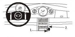 Fixation voiture Proclip  Brodit Mini Cooper Réf 853580