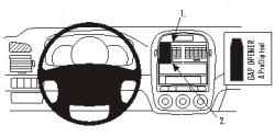 Fixation voiture Proclip  Brodit Kia Cerato Réf 853586
