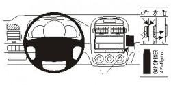 Fixation voiture Proclip  Brodit Kia Cerato Réf 853587