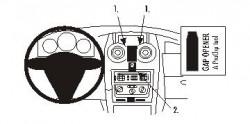 Fixation voiture Proclip  Brodit Peugeot 1007 Réf 853607