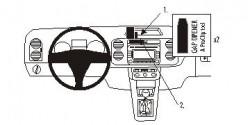 Fixation voiture Proclip  Brodit Volkswagen Golf Plus Réf 853609