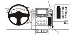 Fixation voiture Proclip  Brodit Nissan Frontier Réf 853614