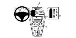 Fixation voiture Proclip  Brodit Saab 9-2x Réf 853615