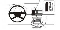 Fixation voiture Proclip  Brodit Volkswagen Fox Réf 853620