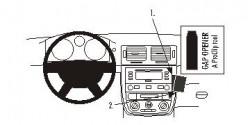Fixation voiture Proclip  Brodit Chevrolet Cobalt Réf 853640