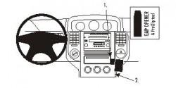 Fixation voiture Proclip  Brodit Nissan X-Trail Réf 853653