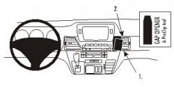 Fixation voiture Proclip  Brodit Honda FR-V Réf 853668