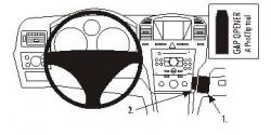 Fixation voiture Proclip  Brodit Opel Zafira B Réf 853670