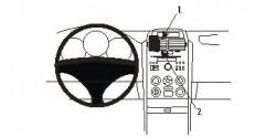 Fixation voiture Proclip  Brodit Suzuki Grand Vitara Réf 853676