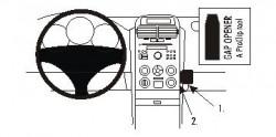 Fixation voiture Proclip  Brodit Suzuki Grand Vitara Réf 853677