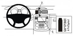 Fixation voiture Proclip  Brodit Mercedes Benz R-Class Réf 853680