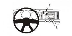 Fixation voiture Proclip  Brodit Chevrolet SSR Réf 853686