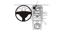 Fixation voiture Proclip  Brodit Volkswagen GLI Réf 853689
