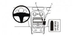 Fixation voiture Proclip  Brodit Chevrolet HHR Réf 853700