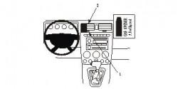 Fixation voiture Proclip  Brodit Hummer H3 Réf 853702