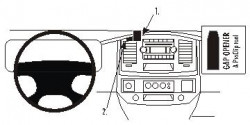 Fixation voiture Proclip  Brodit Dodge Ram Pick Up 1500 Réf 853704