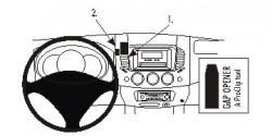 Fixation voiture Proclip  Brodit Mitsubishi L200 Réf 853712