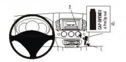 Fixation voiture Proclip  Brodit Mitsubishi L200 Réf 853713