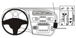 Fixation voiture Proclip  Brodit Seat Leon Réf 853715
