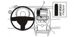 Fixation voiture Proclip  Brodit Citroen C1 Réf 853716