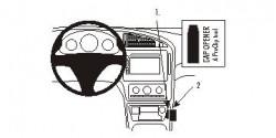 Fixation voiture Proclip  Brodit Saab 9-5 Réf 853719