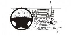 Fixation voiture Proclip  Brodit Toyota Fortuner Réf 853722