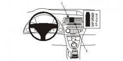 Fixation voiture Proclip  Brodit Honda Civic Réf 853732