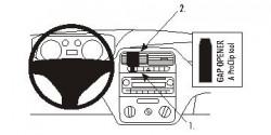 Fixation voiture Proclip  Brodit Fiat Punto Grande Réf 853745