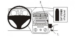 Fixation voiture Proclip  Brodit Fiat Punto Grande Réf 853746
