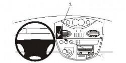 Fixation voiture Proclip  Brodit LDV Maxus Réf 853749