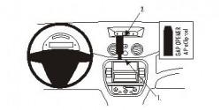 Fixation voiture Proclip  Brodit Citroen C2 Réf 853750