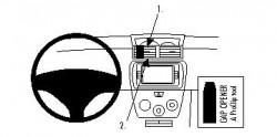 Fixation voiture Proclip  Brodit Daihatsu Materia Réf 853776