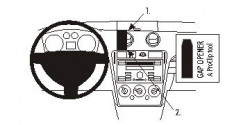 Fixation voiture Proclip  Brodit Ford Fusion Réf 853797