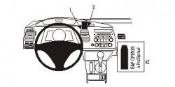 Fixation voiture Proclip  Brodit Acura CSX Réf 853808